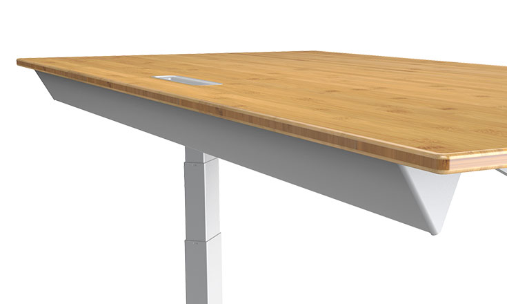 Xdesk Handcrafted Power Adjustable Desks Adjustable Height - Adjustable height conference table