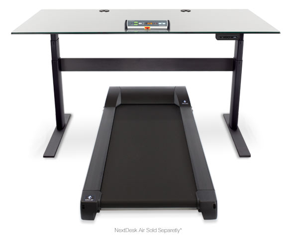 Treadmill desks are the latest workplace trend.