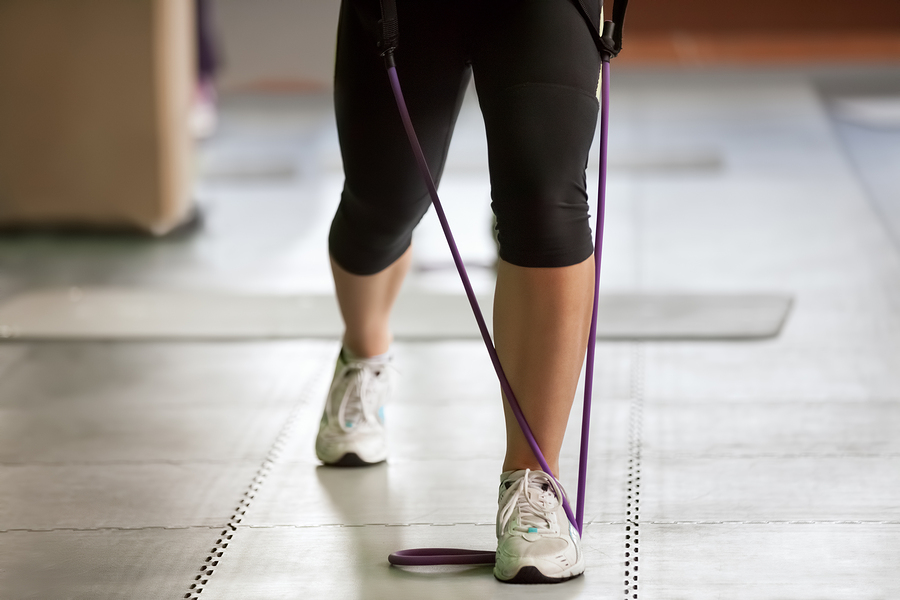 There are thousands of workouts to do with resistance bands