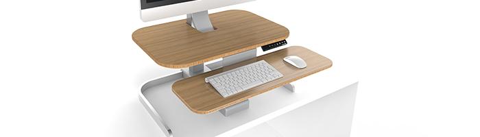 Xdesk CrossOver standing desk converter